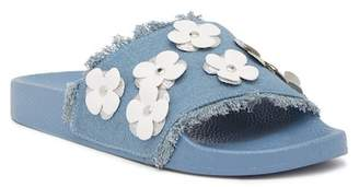 Report Daisy Denim Slide Sandal (Little Kid & Big Kid)
