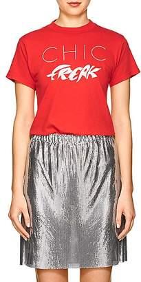 "Monogram Women's ""Chic Freak"" Cotton T-Shirt - Red"