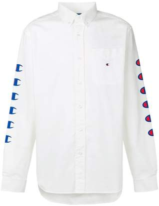 Champion branded sleeves shirt