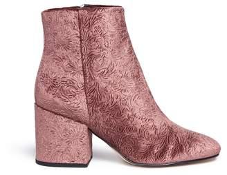Sam Edelman 'Taye' floral jacquard velvet ankle boots
