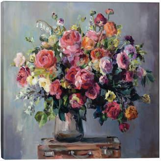 iCanvas Icanvasart Abundant Bouquet Canvas Art