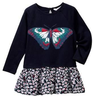 Joe Fresh Butterfly Dress (Baby Girls)