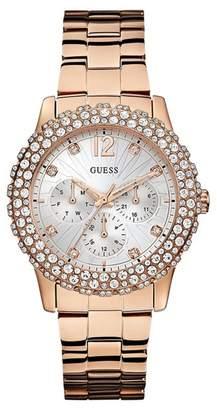 Guess Rose Gold Watch - ShopStyle UK - photo #1