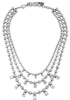 Dannijo Crystal Multistrand Necklace