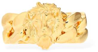 Versace Braided Lion Ring