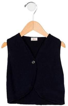 Ketiketa Boys' Wool Button-Up Vest