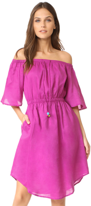 Line & Dot Garcia Off the Shoulder Dress $85 thestylecure.com