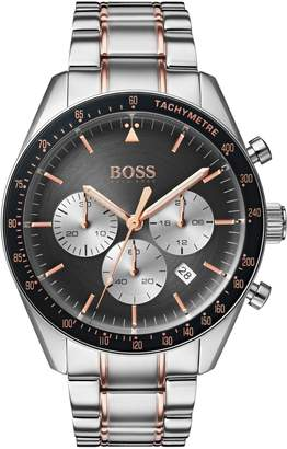 BOSS Trophy Chronograph Bracelet Watch, 44mm