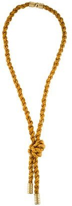 Giles & Brother Rope Necklace $125 thestylecure.com