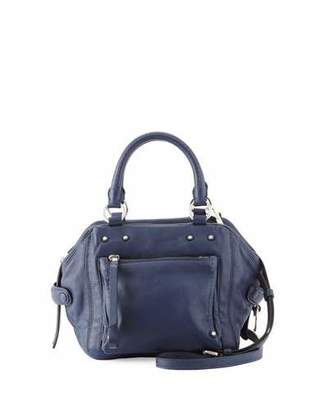 MARC by Marc Jacobs Cube 21 Lamb Leather Shoulder Bag, Amalfi Coast $648 thestylecure.com