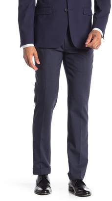 """Louis Raphael Solid Modern Fit Pleated Pants - 30-34\"""" Inseam"""