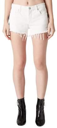 Blank NYC BLANKNYC Best Coast Embroidered Denim Shorts