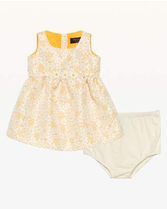Juicy Couture Floral Jacquard Party Dress for Baby