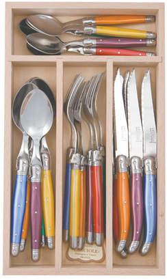 Debutant 24 Piece Mirror Polished Cutlery Set