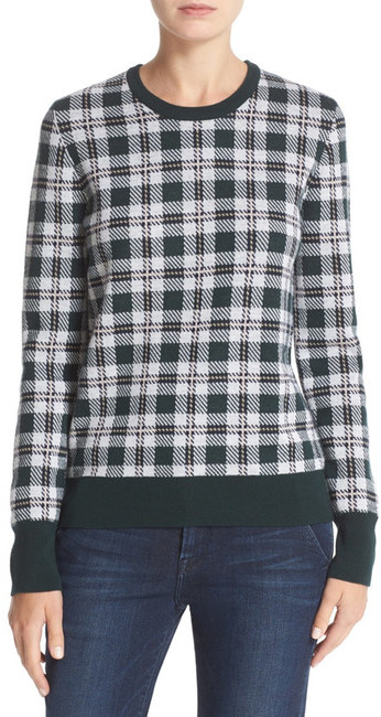 EquipmentEquipment Shane Plaid Wool Sweater