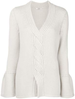 Liska cashmere cable knit sweater