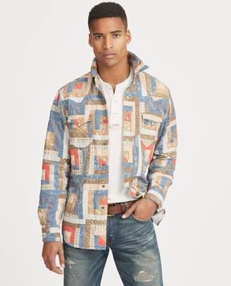Ralph Lauren Classic Fit Patchwork Shirt