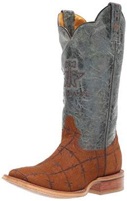 Tin Haul Shoes Men's Hairy Metal Western Boot