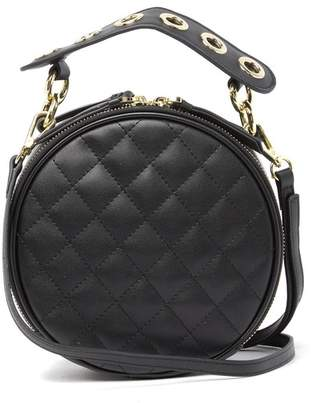Belle & Bloom Claire Diamond Quilted Leather Satchel