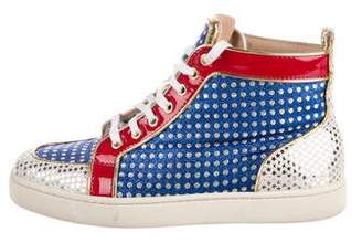 Christian Louboutin Superball High-Top Sneakers
