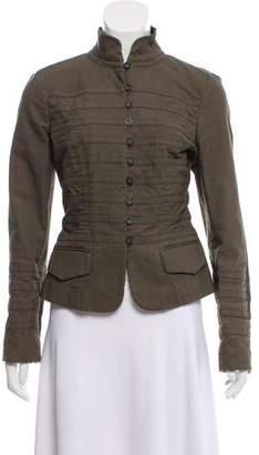 Diane von Furstenberg Casual Military Jacket