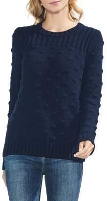 Vince Camuto Vince Camto Popcorn Stitch Cotton Sweater