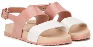 Mini Melissa colourblock slingback sandals