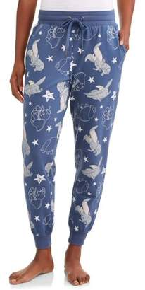Disney Women's and Women's Plus Dumbo Pajama Ankle Pant