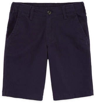 Arizona Flex Mid Length Chino Short Boys 4-20, Slim & Husky