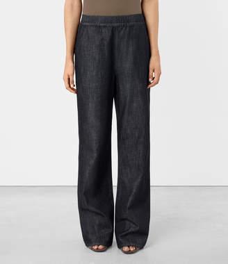 AllSaints Bloom Denim Lounge Pants