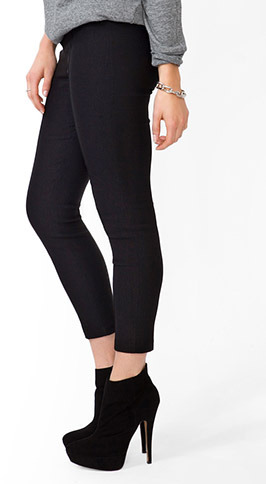 Forever 21 High-Waisted Skinny Trousers