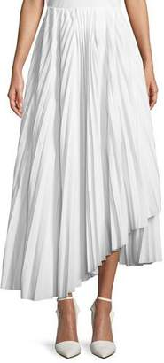 Awake Pleated Maxi Skirt