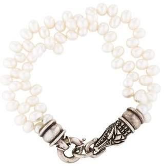 Kieselstein-Cord Pearl Multistrand Bracelet