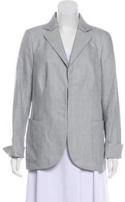 Akris Button-Up Blazer