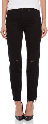 AG Adriano Goldschmied The Phoebe Vintage-Inspired High-Waisted Tapered Jeans