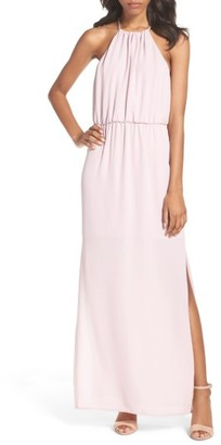 Women's Charles Henry Chiffon Maxi Dress $78 thestylecure.com