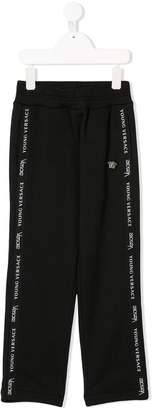 Versace piped track pants