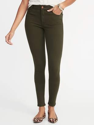 Old Navy Mid-Rise Rockstar 24/7 Pop-Color Super Skinny Jeans