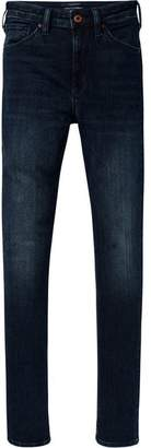Scotch & Soda Haut - The Moon Takes It All | High-rise skinny fit