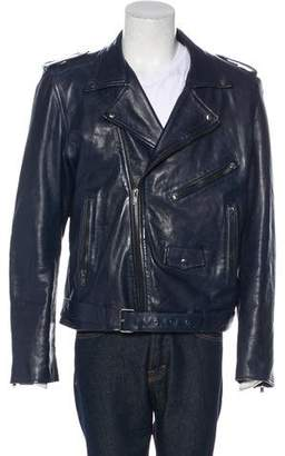 BLK DNM Leather Moto Jacket