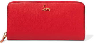 Christian Louboutin Panettone Textured-leather Continental Wallet