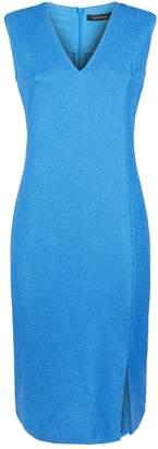 St. John Knitted Sheath Dress