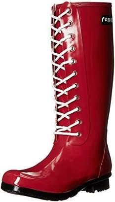 Roma Boots ROMA Women's OPINCA Lace-Up Rain Boots