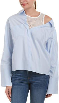 Few Moda Mesh Collar Shirt