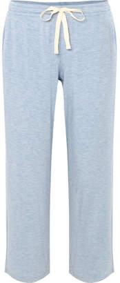 Hudson Skin Stretch-jersey Pajama Pants - Light blue