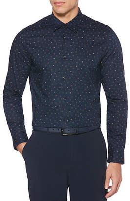 Perry Ellis Mini Geo Stretch Shirt