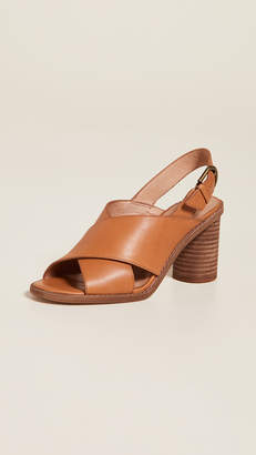 ab2eb9daa1e Madewell The Ruthie Crisscross Sandals in Leather