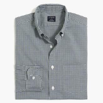 J.Crew Gingham regular flex casual shirt