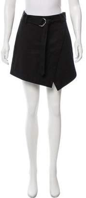 Frame Black Belted Shorts