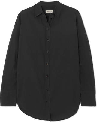 Matteau - Cotton-voile Shirt - Black